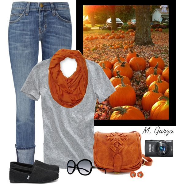 """""""Pumpkin Patch Outfit"""" by maria-garza on Polyvore"""