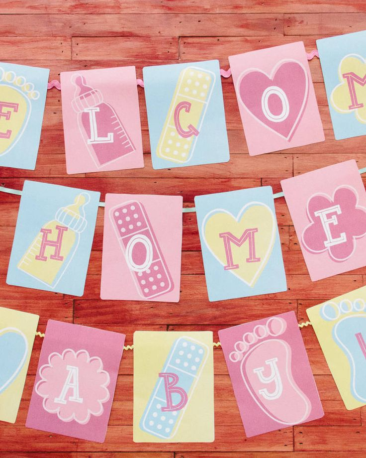 Welcome Home Baby Party Decorations: 25+ Unique Welcome Home Baby Ideas On Pinterest