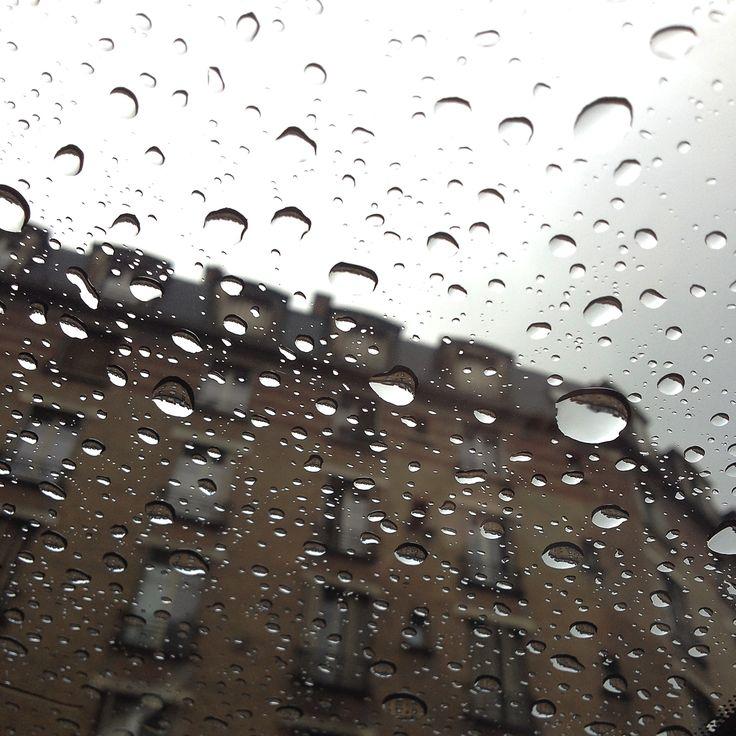 Parigi attraverso il tetto del taxi   Parigi è sempre la stessa sempre diversa. Ci sono periodi dell'anno se ho capito bene in cui Parigi è sempre un po' piovosa: come la mattina in cui ho scattato la foto.  Conosciamo quel che conosciamo per approssimazioni successive. Per investigazioni...