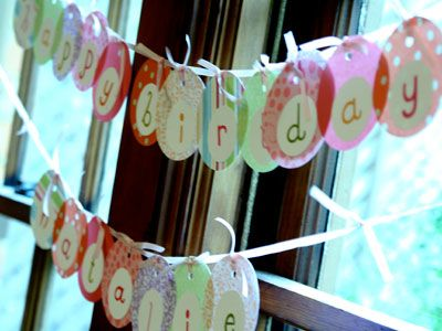 Polka Dot Birthday Supplies, Decor, Clothing: Polka Dot Party by Kelsey - Handmade with Love