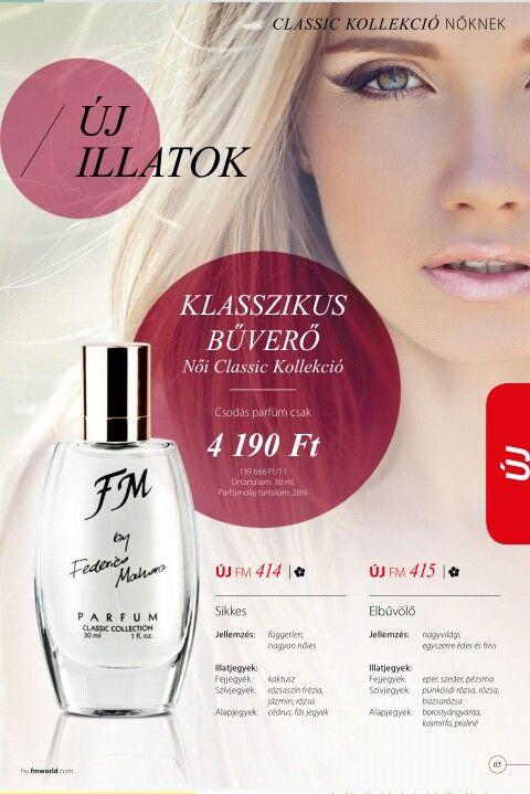 Classic kollekció 20% parfümolaj tartalom (414 - Hugo Boss: Mavie Pour-szerű illat 415 - Valentine: Pink Valentine-szerű illat)