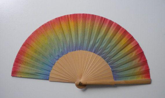 Rainbow Fan by Kate Dengra