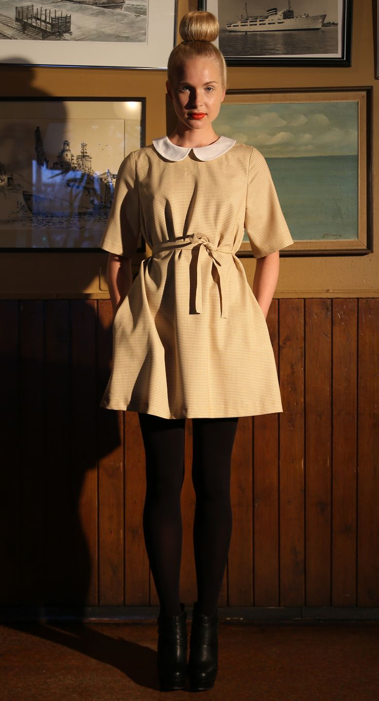 Ivana Helsinki AW13 collection: Lynn yellow dress   #ivanahelsinki #fashionflashfinland #fashion #fashiondesigner #designer #aw13 #collection #Finland #Helsinki