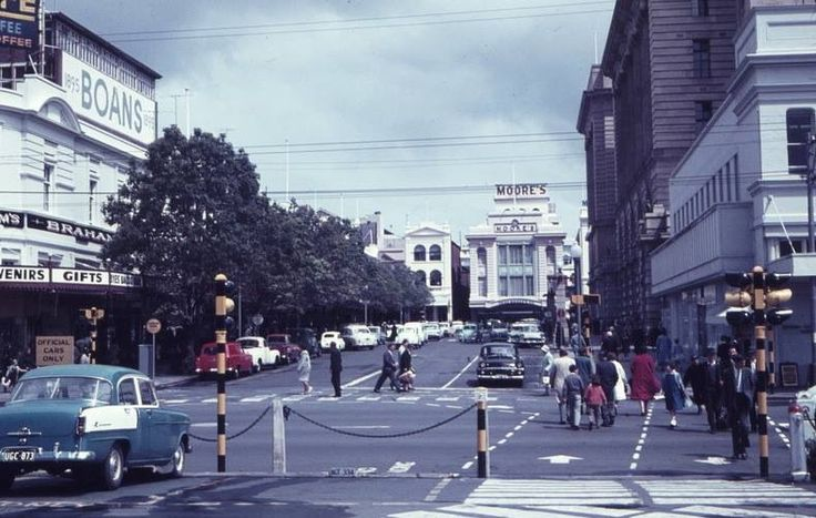 Forrest Place, when it was still a road