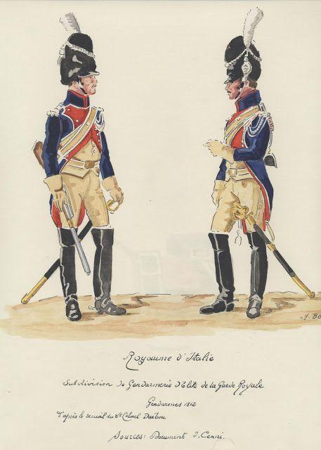 Gendarmi della gendarmeria di élite del regno d'Italia