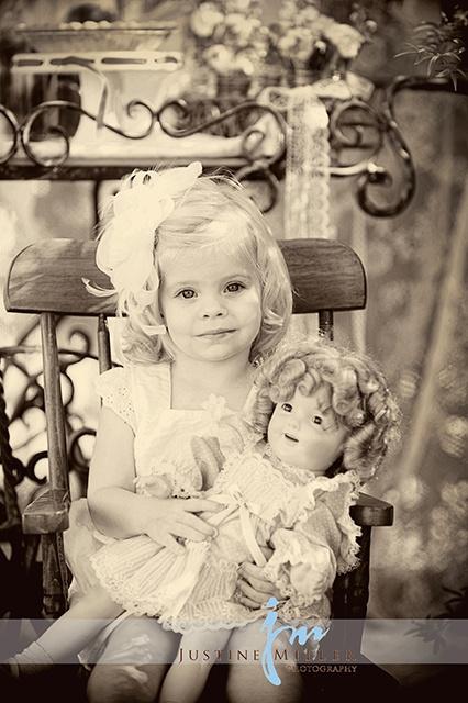 vintage children's inspired photo