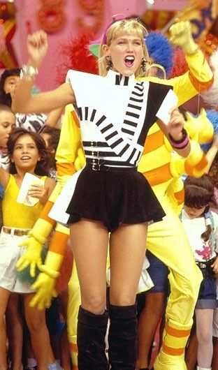 Even though Xuxa is Brazilian ,most Mexican kids from the 80's grow up watching her show on the weekends.