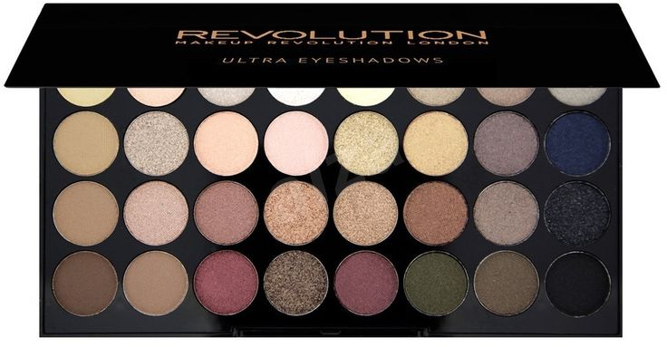 Makeup Revolution 32 Lidschatten-Palette Makellos | Alza.sk   – beauty
