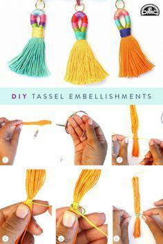 We never met a tassel we didn't love. Follow along with this DIY tassel…