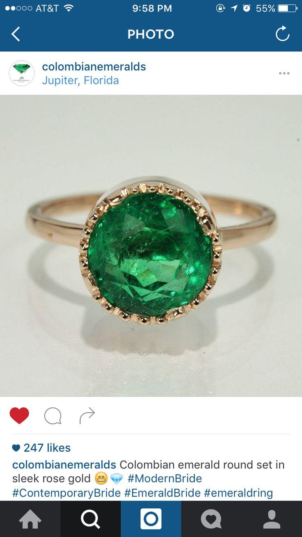 Dream Emerald Engagement