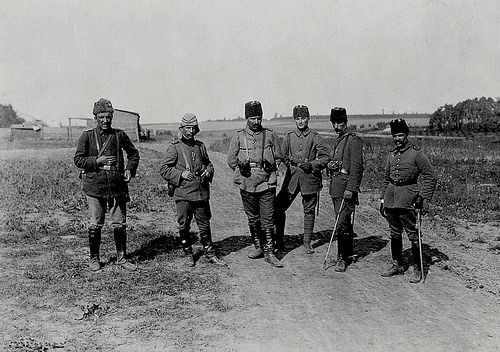 [Ottoman Empire] Officers, WW1, 1916 (Osmanlı Subayları, 1916) Türkische Offiziere, 1916 | by OTTOMAN IMPERIAL ARCHIVES