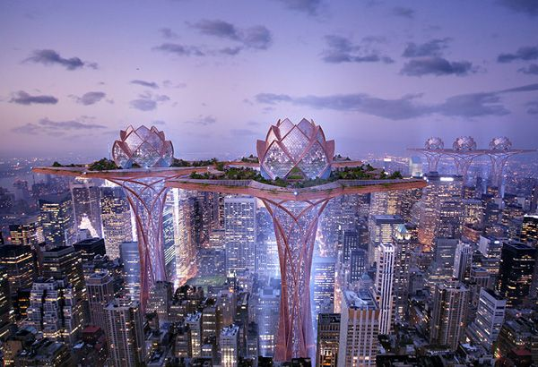 Futuristic City in the Sky Provides Tranquil Oasis Away From Urban Life - Enpundit