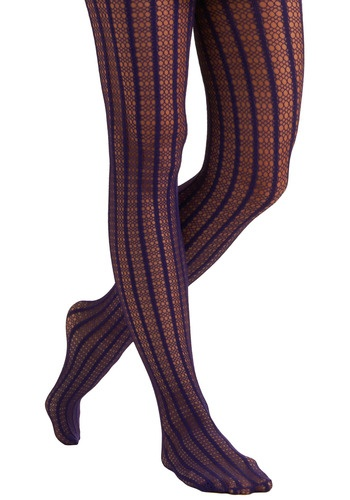 purple background fence tights