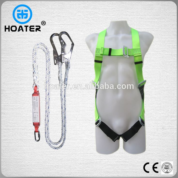 High Quality EN361 Fall Safety Belt With Shock Absorber