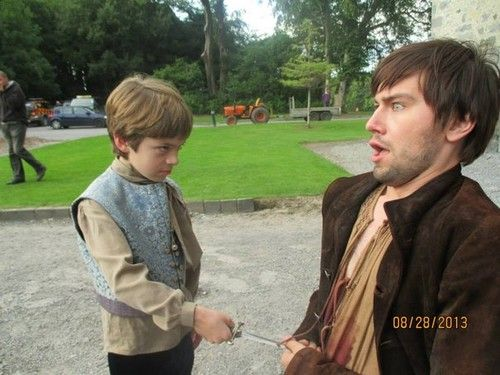 Reign [TV Show] Photo: Cast ON Set (Prince Charles and Bash)