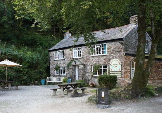 Wedding Venue Idea, Woods Cafe in the middle of Cardinham woods near Bodmin, Cornwall.