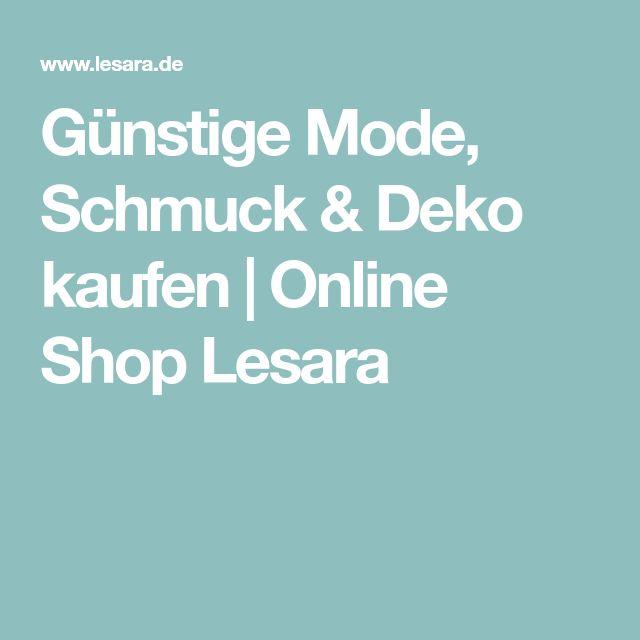 Günstige Mode, Schmuck & Deko kaufen | Online Shop Lesara