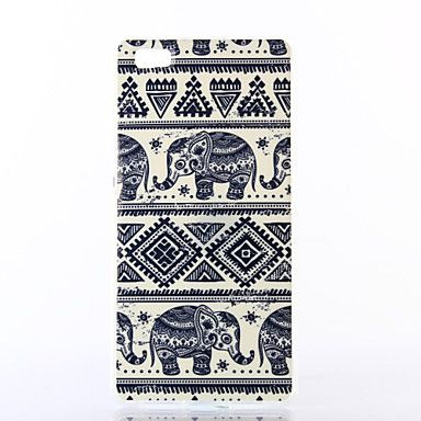Elephant Pattern TPU Soft Case for Multiple Huawei P8/P8 Lite – USD $ 3.99
