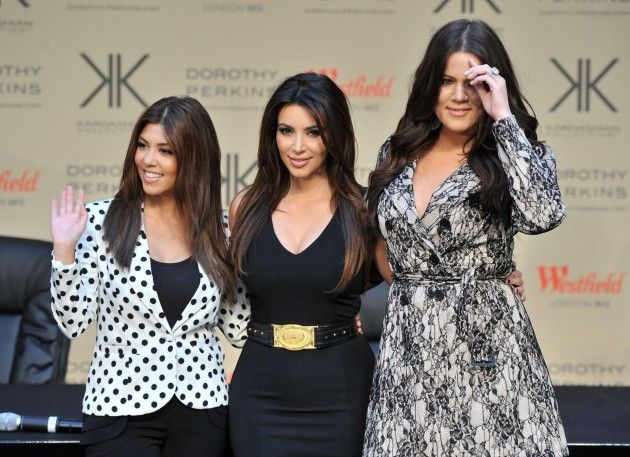 Kardashian Christmas Card: Wheres Kanye West?