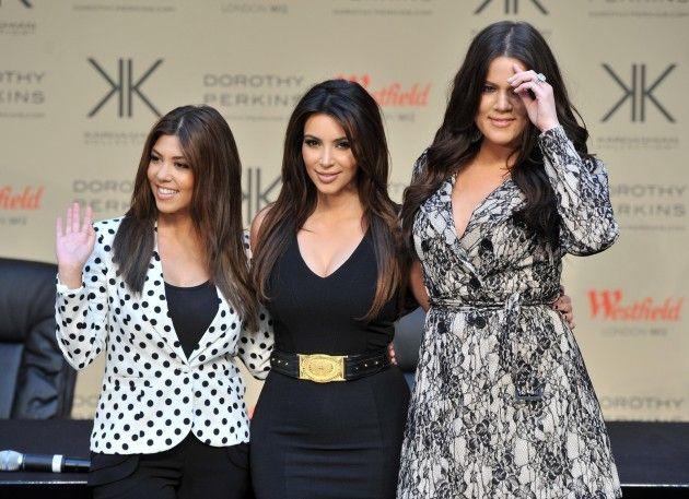 Kardashian Christmas Card: Wheres Kanye West?