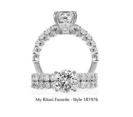Engagement ring by Ritani.
