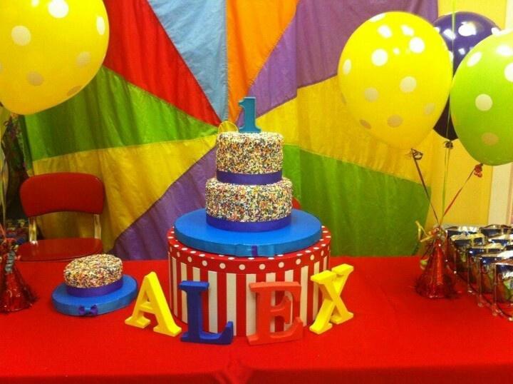 Gymboree First Birthday Party Cake