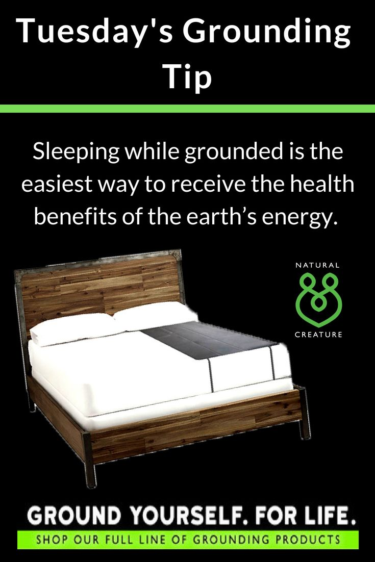 Grounding Tip Sleeping While Grounded