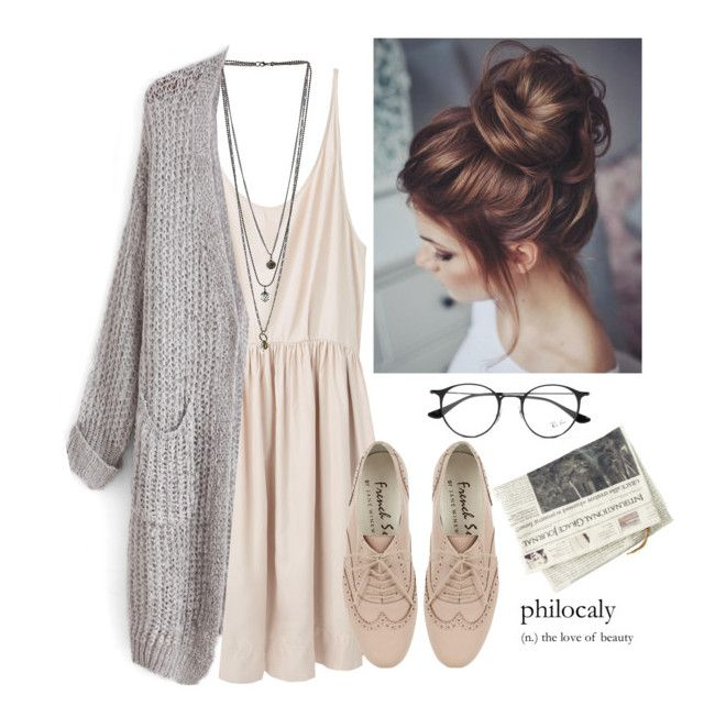 Open Arms- Journey| by babylaci on Polyvore featuring polyvore, fashion, style, Giada Forte, Miss Selfridge, Ray-Ban and clothing