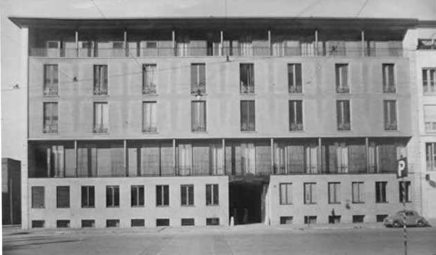 Casa Caccia Dominioni, Milano (arch. Luigi Caccia Dominioni)