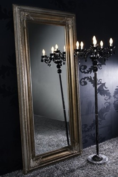 17 best images about miroir luminaire on pinterest baroque allen roth and - Miroir baroque rectangulaire ...
