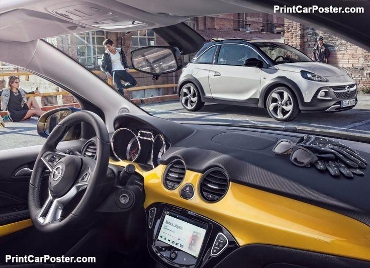 Opel Adam Rocks 2015 poster, #poster, #mousepad, #tshirt, #printcarposter