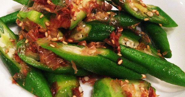 夏の名残を楽しもう!和えるだけで完成のスピード副菜。「レンチン・オクラ」がとっても便利♪