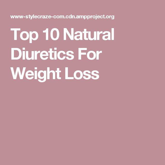Top 10 Natural Diuretics For Weight Loss