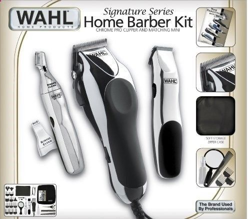 Hair Trimmer - Home Barber Kit Shaver Electric Trimmer 30 Piece Machine Beard Cut Shaving Nose