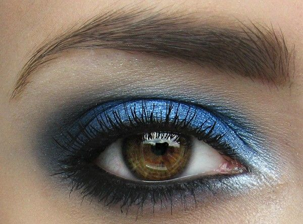 Blue makeup: Eyeshadows Style, Cheetahs Makeup, Eye Colors, Brown Eye, Blue Makeup, Makeup Ideas, Blue Eye Makeup, Eyemakeup, Prom Makeup
