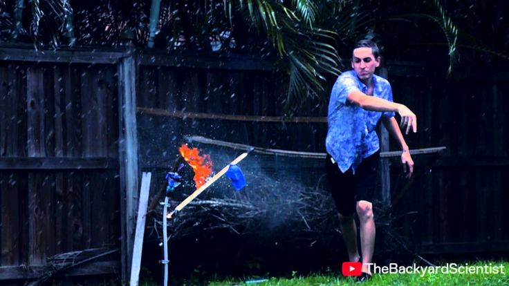 The Backyard Scientist Explodes Propane-Filled Balloons With a Drone