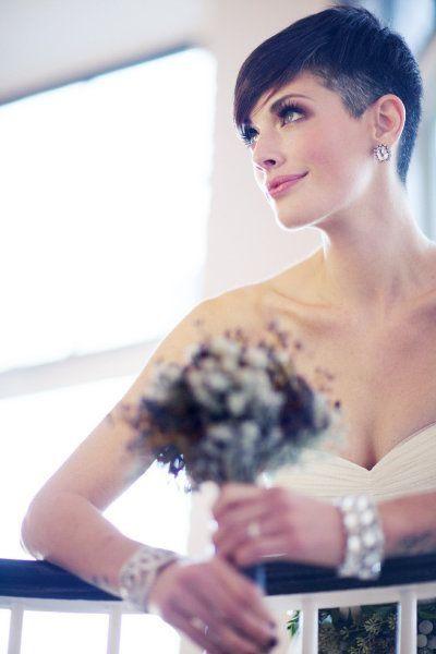 26 Peinados de boda para mujeres con cabello corto ¡Por fin están aquí! ⋮ Es la moda:
