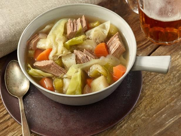 Corned Beef and Cabbage : Start this recipe well ahead of your St. Patrick's Day feast — Alton brines corned beef for 10 days to ensure that it comes out ultratender and flavorful.