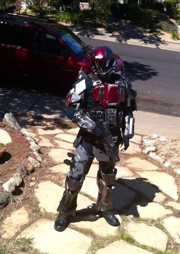 Mickey from Halo 3: ODST via reddit user Duramax2003