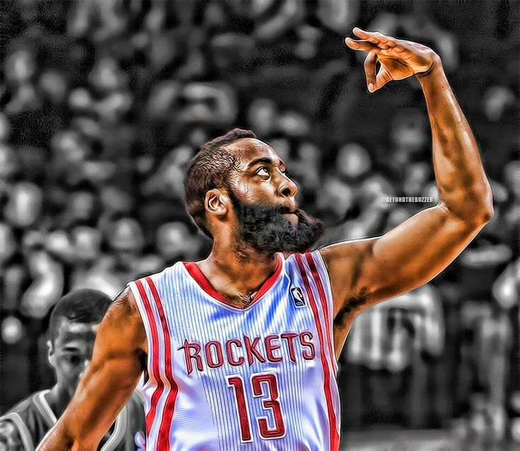 Espectacular James Hardem [jugador de los Houston Rockets]