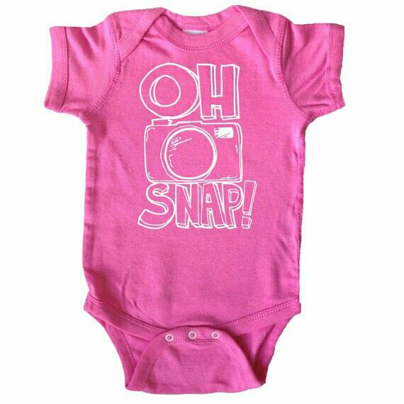 camera photography funny sayings baby shirts one piece babies stuff rose gifts baby bodysuit children clothing