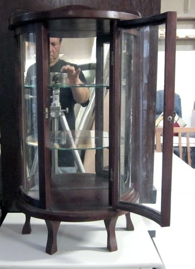 Antique Mahogany Bow Front curio cabinet — Fixed price $65 - 35 Best Bow Front Beauty Images On Pinterest Cabinets, China