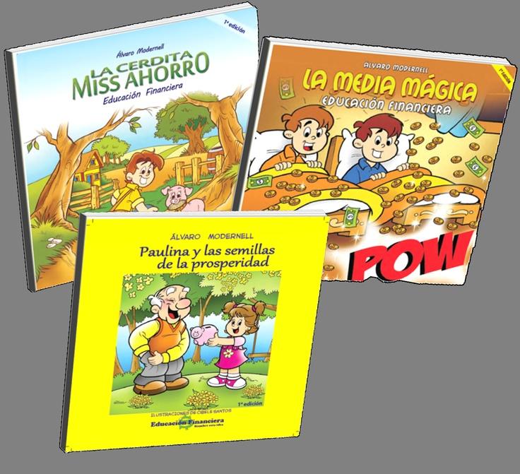 Porque hay que educarlos desde pequeños. En la feria del libro de Bogotá 2012 lanzaremos nuestros libros de educación financiera PARA NIÑOS.