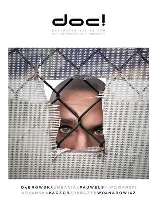 Cover of doc! photo magazine #3. Cover photo: Renata Dabrowska.