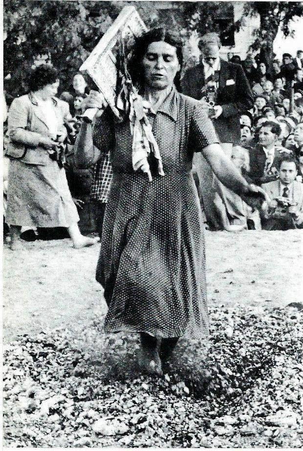 Anastenaria (the day of Santa Elena) (photo 1950's