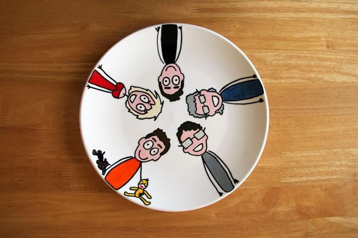 Servies van Annie Warhoofd  www.anniewarhoofd.nl