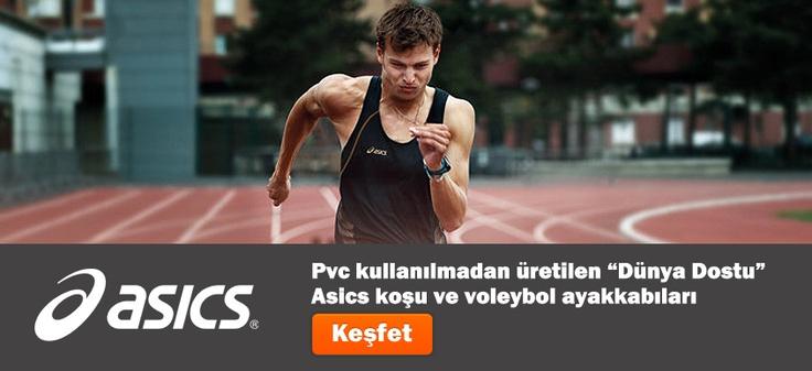 Asics voleybol ve koşu ayakkabıları satışta!