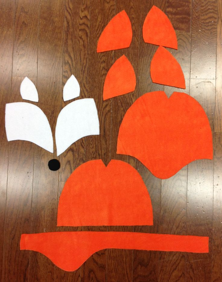 How To's Day: DIY Halloween Costume – Fleece Fox Hat & Tail   Camelot Fabrics. Freshly Made