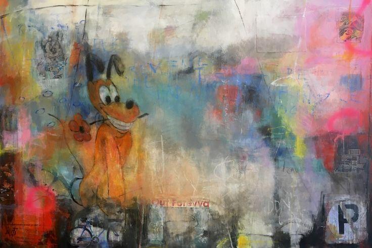 Wall Pluto - Annethe Østensen