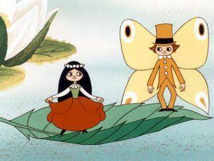 maková panenka a motýl emanuel... kdo nechtěl mít takovou sukýnku :D